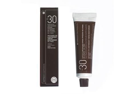 Korres Hidratante de Sandía crema con color SPF 30