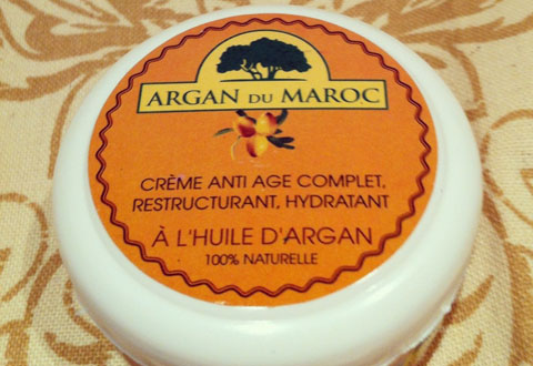 Argan du Maroc, Crema antiedad