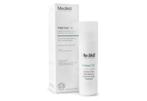 Medik8 Pretox 20, una alternativa a la toxina botulínica
