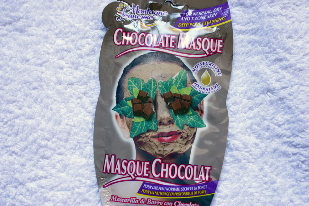 Montagne Jeunesse Chocolate Face Mask
