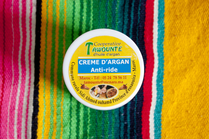 Creme d'argan Anti-ride