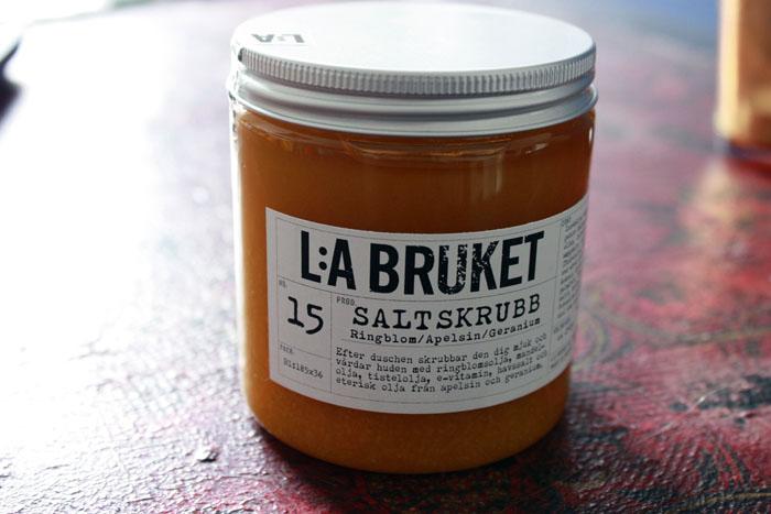 L:A Bruket Salt Body Scrub