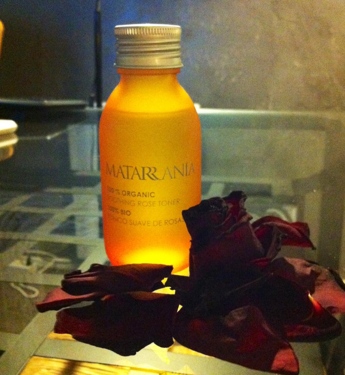 Matarrania, tónico suave de rosas