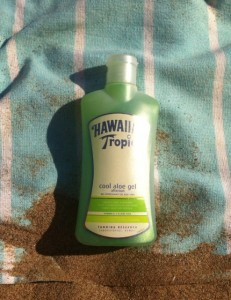 cooling gel aloe vera hawaiian tropic