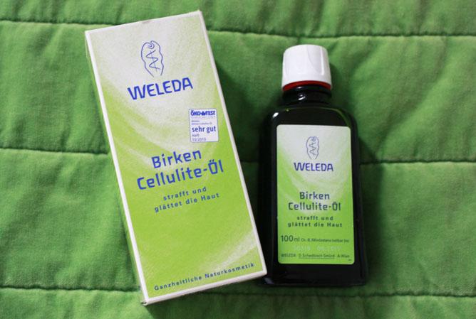Weleda aceite anticelulitico de abedul