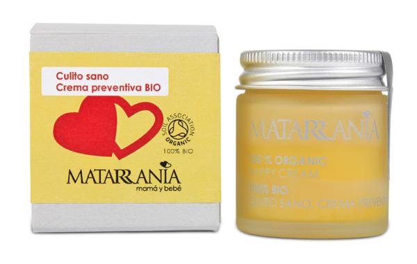 MATARRANIA CULITO SANO. Crema preventiva para el bebé.