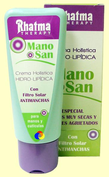 Crema de manos holística hidra-lipídica ManoSan