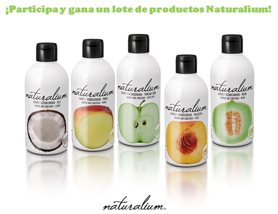 Sorteo de productos NATURALIUM